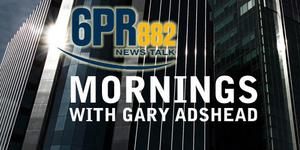 6pr logo mornings with Gary ADshead